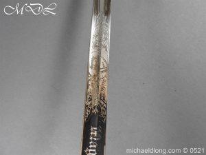 michaeldlong.com 18966 300x225 Prussian Blue and Gilt Officer's Sword