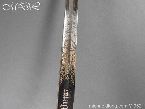 michaeldlong.com 18966 600x450 Prussian Blue and Gilt Officer's Sword