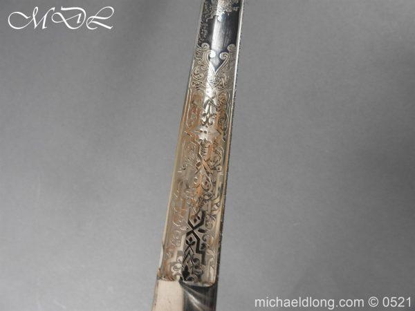 michaeldlong.com 18969 600x450 Prussian Blue and Gilt Officer's Sword