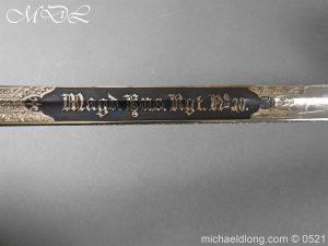 michaeldlong.com 18973 300x225 Prussian Blue and Gilt Officer's Sword