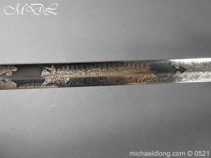 michaeldlong.com 18974 300x225 Prussian Blue and Gilt Officer's Sword