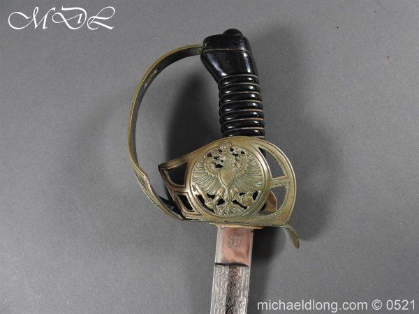 michaeldlong.com 18975 600x450 Prussian Blue and Gilt Officer's Sword