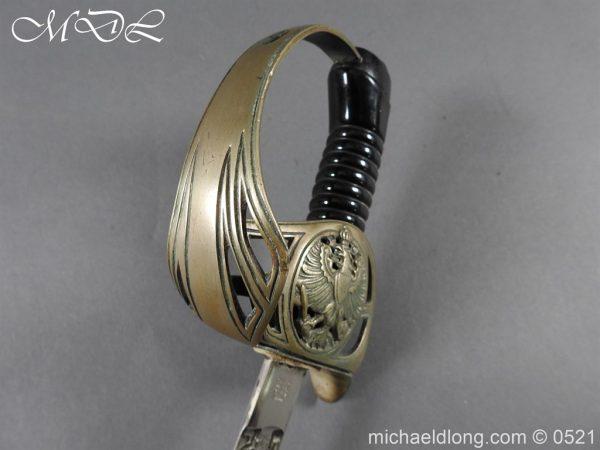 michaeldlong.com 18976 600x450 Prussian Blue and Gilt Officer's Sword