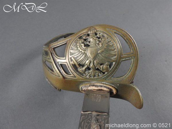 michaeldlong.com 18977 600x450 Prussian Blue and Gilt Officer's Sword