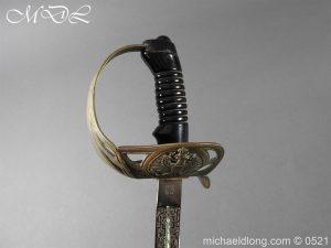 michaeldlong.com 18983 300x225 Prussian Blue and Gilt Officer's Sword