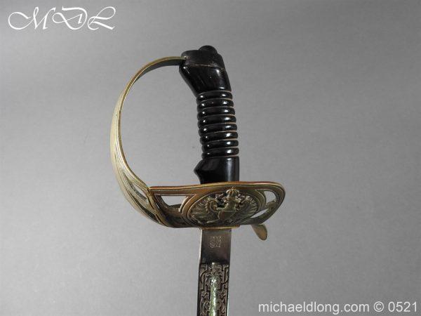michaeldlong.com 18983 600x450 Prussian Blue and Gilt Officer's Sword