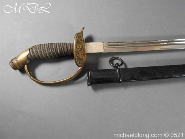 michaeldlong.com 19012 600x450 Prussian Wurttenburg 1889 Infantry Officer's Sword