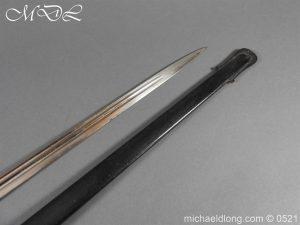 michaeldlong.com 19014 300x225 Prussian Wurttenburg 1889 Infantry Officer's Sword