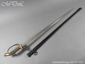 michaeldlong.com 19015 300x225 Prussian Wurttenburg 1889 Infantry Officer's Sword
