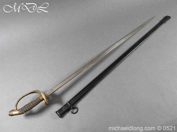 michaeldlong.com 19015 600x450 Prussian Wurttenburg 1889 Infantry Officer's Sword