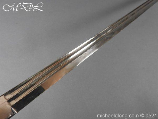 michaeldlong.com 19023 600x450 Prussian Wurttenburg 1889 Infantry Officer's Sword