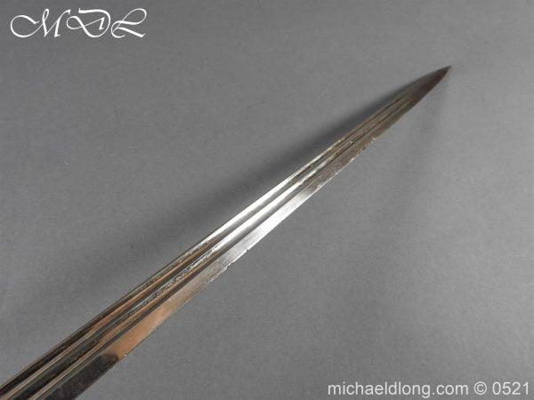 michaeldlong.com 19024 600x450 Prussian Wurttenburg 1889 Infantry Officer's Sword
