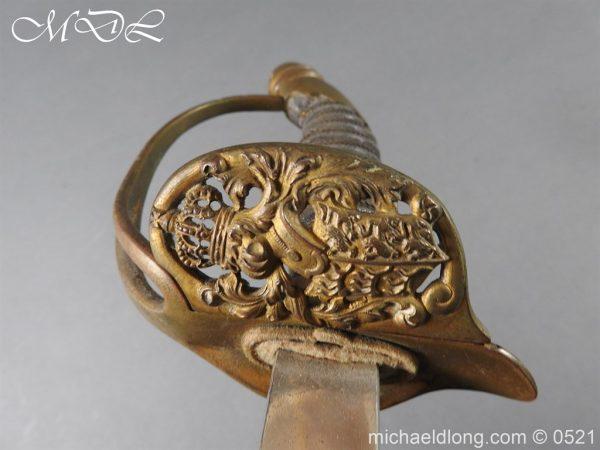 michaeldlong.com 19029 600x450 Prussian Wurttenburg 1889 Infantry Officer's Sword