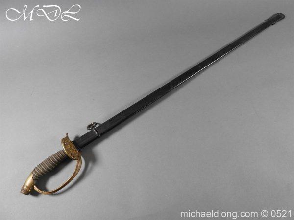 michaeldlong.com 19036 600x450 Prussian Wurttenburg 1889 Infantry Officer's Sword