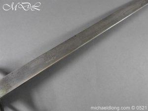 michaeldlong.com 19060 300x225 Light Dragoon Troopers Sword c 1760