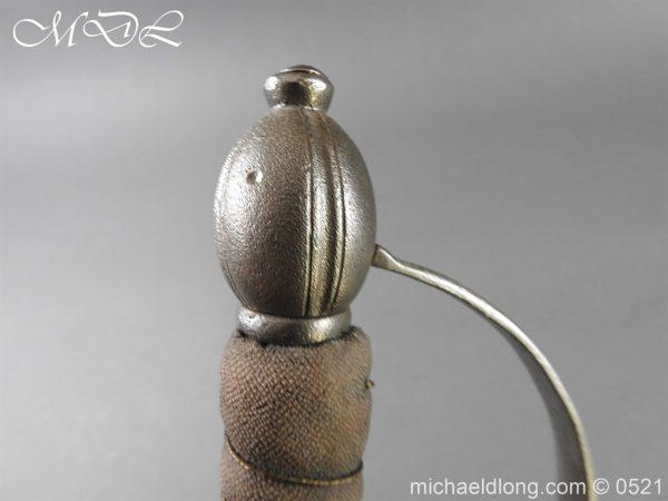 michaeldlong.com 19073 600x450 Light Dragoon Troopers Sword c 1760