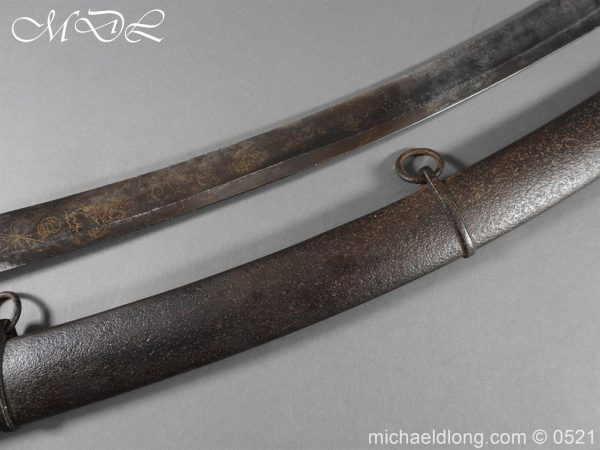 michaeldlong.com 19099 600x450 British 1796 Blue and Gilt Light Cavalry Sword