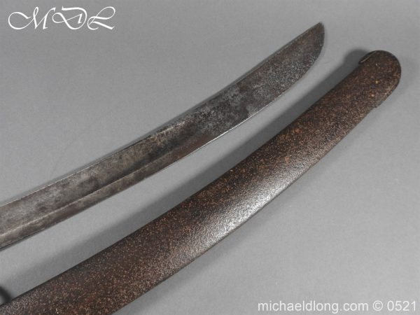 michaeldlong.com 19100 600x450 British 1796 Blue and Gilt Light Cavalry Sword