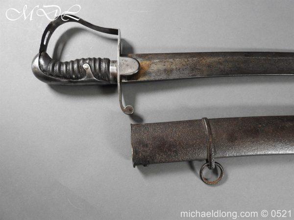 michaeldlong.com 19102 600x450 British 1796 Blue and Gilt Light Cavalry Sword