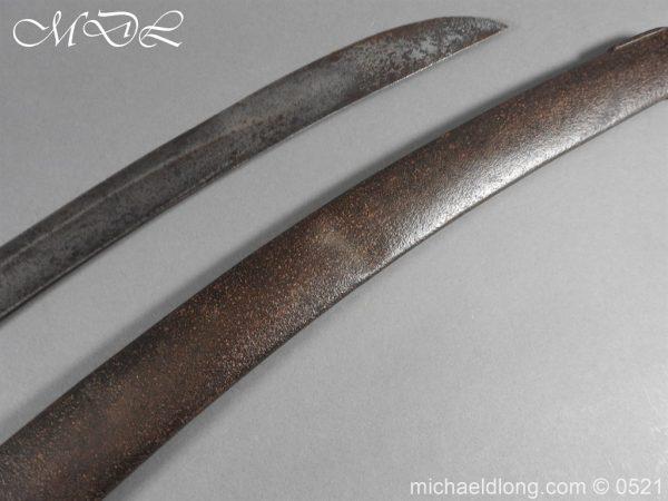 michaeldlong.com 19104 600x450 British 1796 Blue and Gilt Light Cavalry Sword