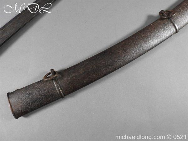 michaeldlong.com 19105 600x450 British 1796 Blue and Gilt Light Cavalry Sword