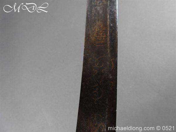 michaeldlong.com 19111 600x450 British 1796 Blue and Gilt Light Cavalry Sword