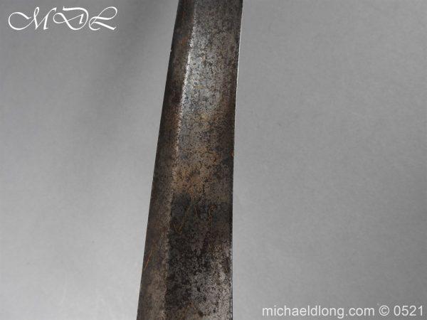 michaeldlong.com 19115 600x450 British 1796 Blue and Gilt Light Cavalry Sword