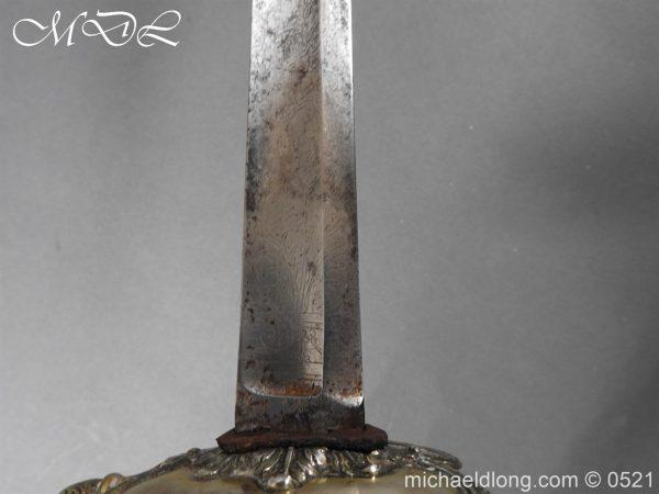 michaeldlong.com 19142 600x450 1796 Silver Hilt Renfrewshire Yeomanry Presentation Sword