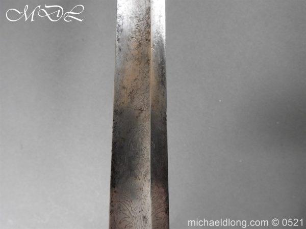 michaeldlong.com 19143 600x450 1796 Silver Hilt Renfrewshire Yeomanry Presentation Sword