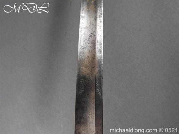 michaeldlong.com 19146 600x450 1796 Silver Hilt Renfrewshire Yeomanry Presentation Sword