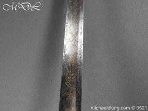 michaeldlong.com 19148 300x225 1796 Silver Hilt Renfrewshire Yeomanry Presentation Sword