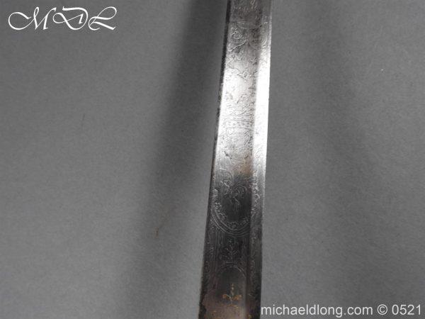 michaeldlong.com 19149 600x450 1796 Silver Hilt Renfrewshire Yeomanry Presentation Sword