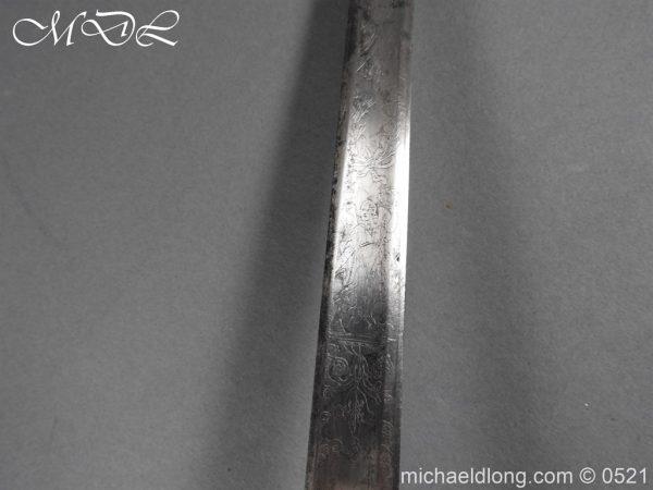 michaeldlong.com 19150 600x450 1796 Silver Hilt Renfrewshire Yeomanry Presentation Sword