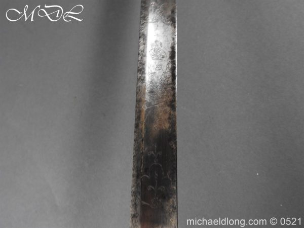 michaeldlong.com 19156 600x450 1796 Silver Hilt Renfrewshire Yeomanry Presentation Sword
