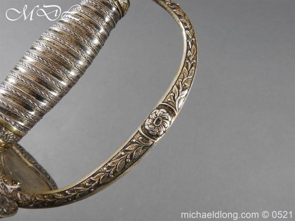 michaeldlong.com 19161 600x450 1796 Silver Hilt Renfrewshire Yeomanry Presentation Sword