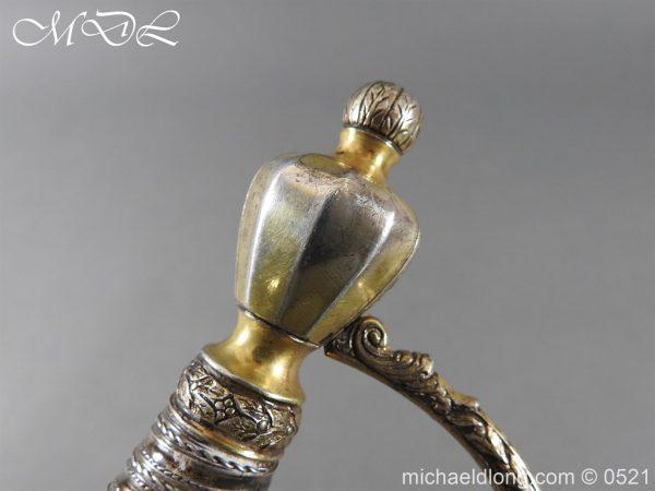 michaeldlong.com 19163 600x450 1796 Silver Hilt Renfrewshire Yeomanry Presentation Sword