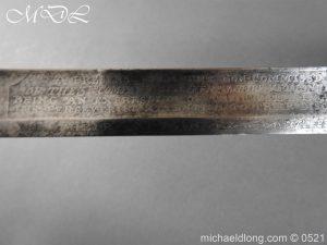 michaeldlong.com 19177 300x225 1796 Silver Hilt Renfrewshire Yeomanry Presentation Sword