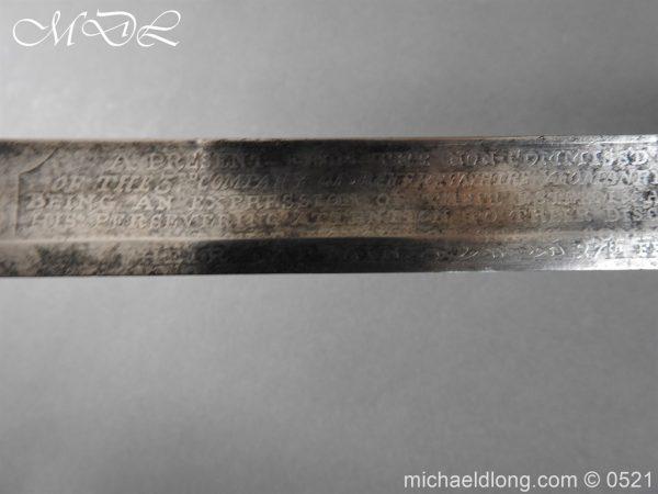 michaeldlong.com 19177 600x450 1796 Silver Hilt Renfrewshire Yeomanry Presentation Sword