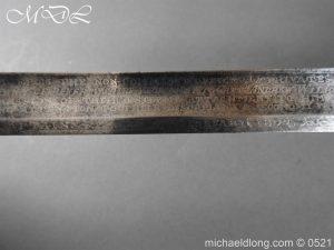 michaeldlong.com 19178 300x225 1796 Silver Hilt Renfrewshire Yeomanry Presentation Sword