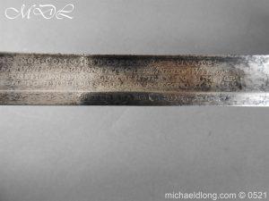 michaeldlong.com 19179 300x225 1796 Silver Hilt Renfrewshire Yeomanry Presentation Sword
