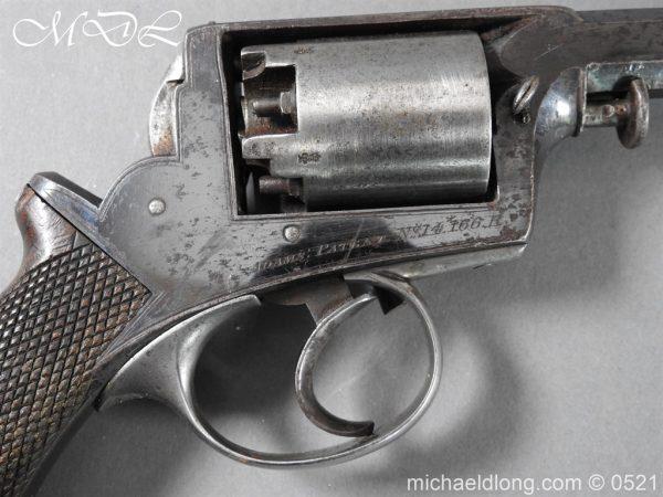 michaeldlong.com 19305 600x450 British Model 1851 Deane Adams Revolver .44 calibre