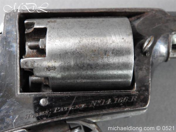 michaeldlong.com 19308 600x450 British Model 1851 Deane Adams Revolver .44 calibre