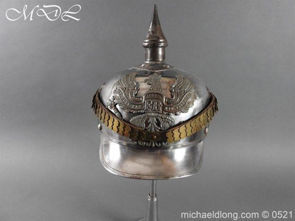 michaeldlong.com 19334 600x450 Prussian NCO Cuirassier Cavalry Helmet