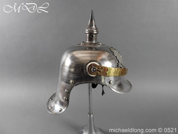 michaeldlong.com 19337 600x450 Prussian NCO Cuirassier Cavalry Helmet