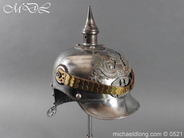 michaeldlong.com 19347 600x450 Prussian NCO Cuirassier Cavalry Helmet