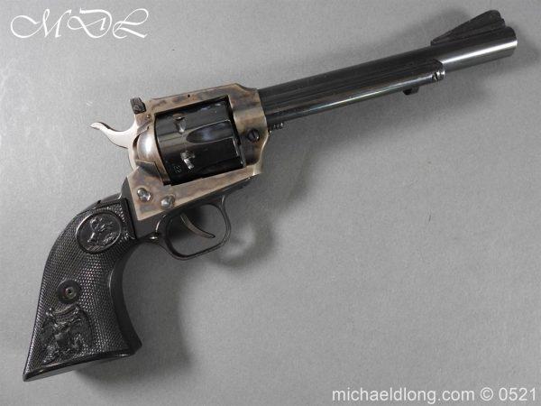 michaeldlong.com 19403 600x450 Colt New Frontier Deactivated .22 Revolver
