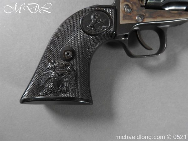 michaeldlong.com 19404 600x450 Colt New Frontier Deactivated .22 Revolver