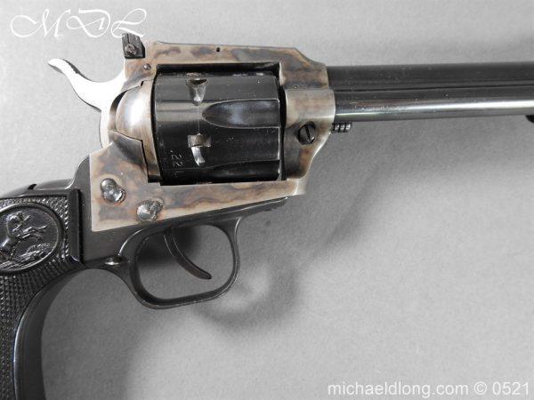 michaeldlong.com 19405 600x450 Colt New Frontier Deactivated .22 Revolver