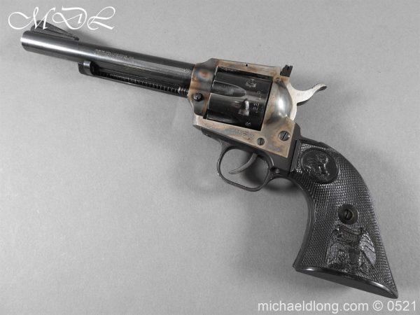 michaeldlong.com 19407 600x450 Colt New Frontier Deactivated .22 Revolver