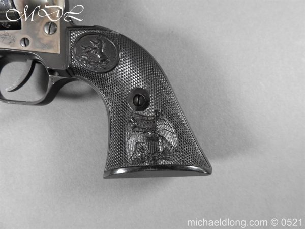 michaeldlong.com 19408 600x450 Colt New Frontier Deactivated .22 Revolver